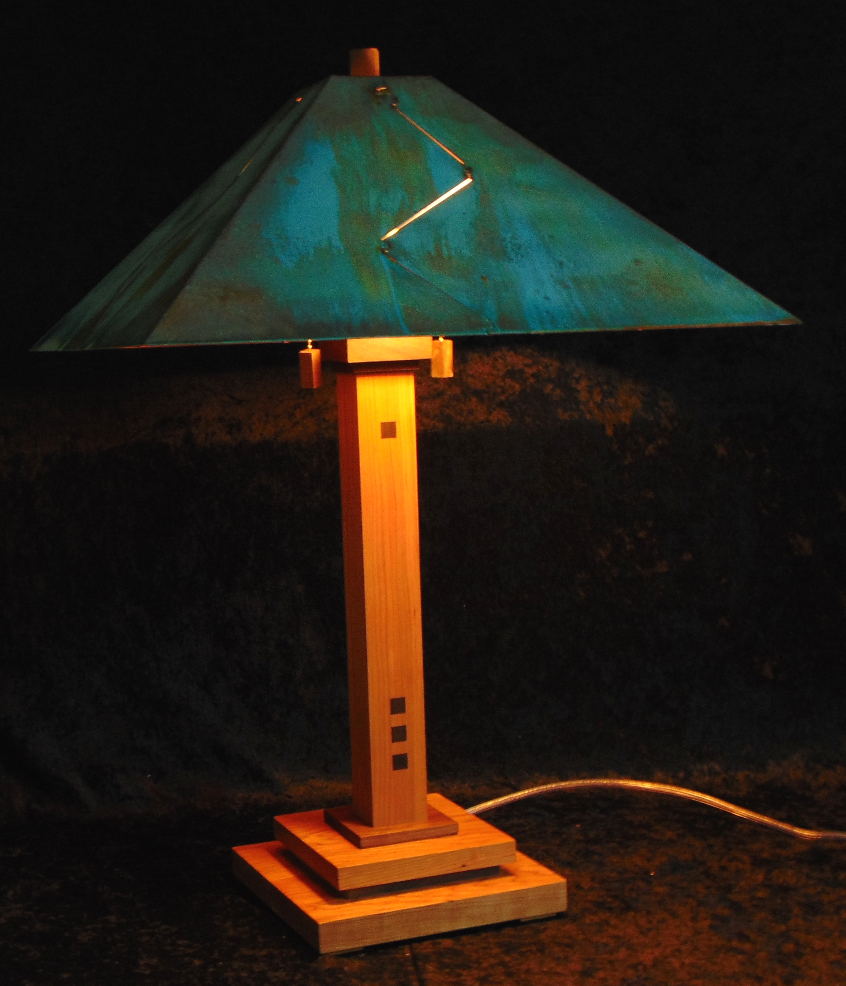 New Haven Wood                 Lamp